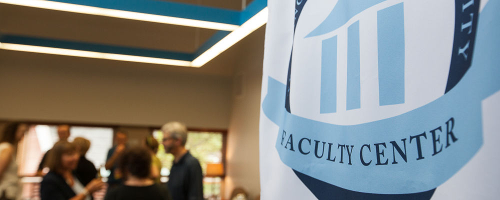 Faculty Center Event