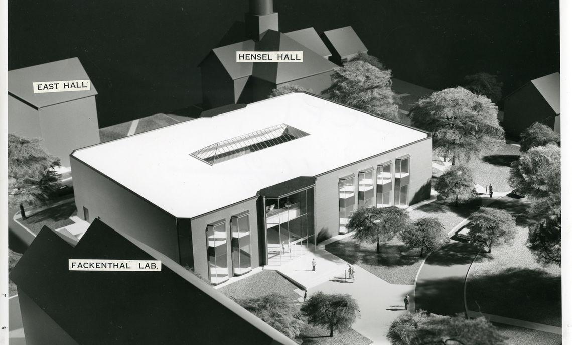 steinman college centerarchitecturalmodel1