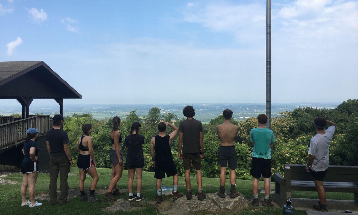 F&M First-Year Outdoor Orientation Trip