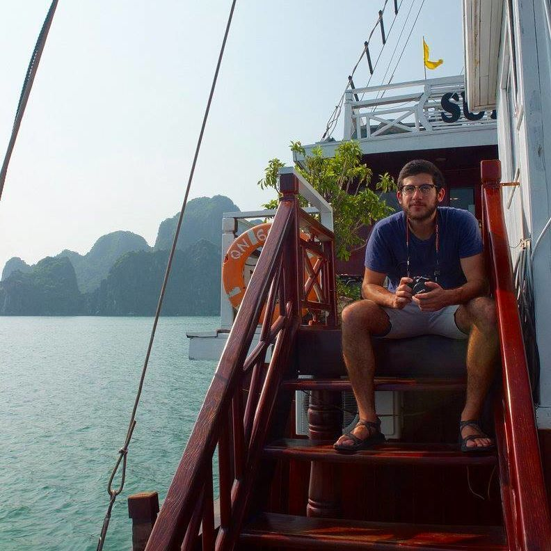 boat halong bay vietnam SIT IHP Cities F16