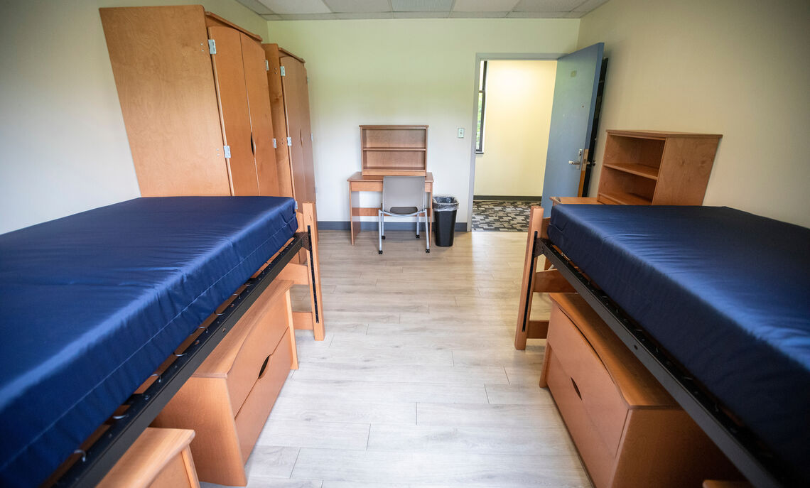 Double room in Weis College House