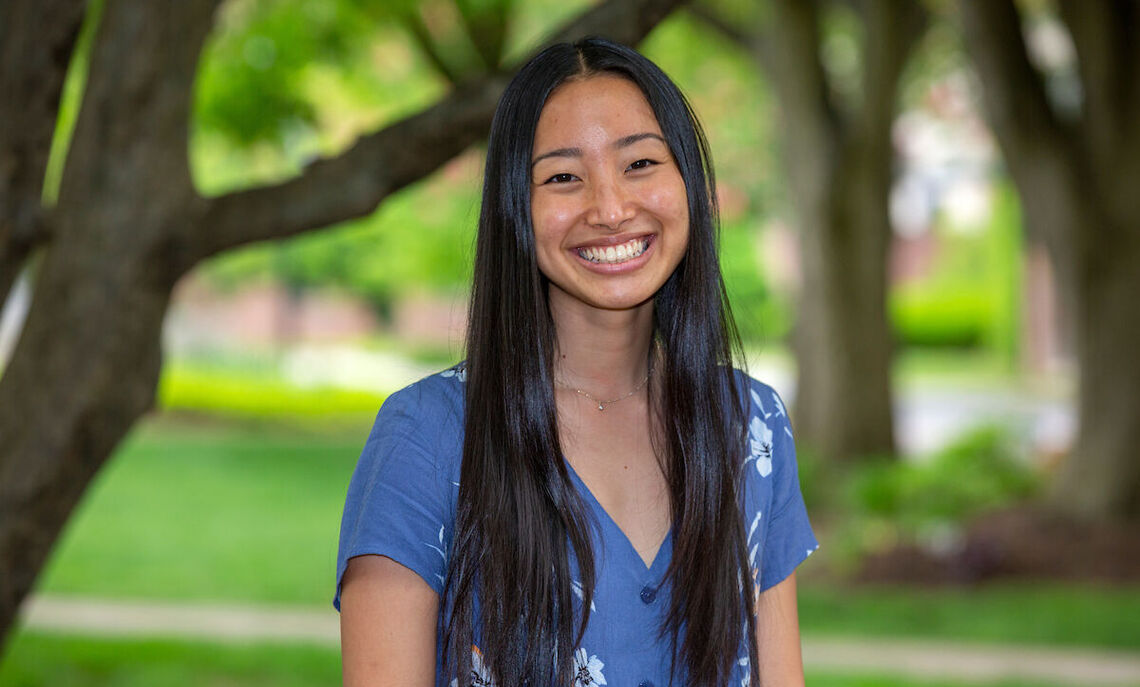 Leilani Ly, of Honolulu, Hawai'i, is this year's recipient of the Williamson Medal, the College's most prestigious award for student achievement.