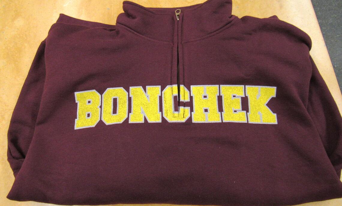 Bonchek Quarter Zip! Only one left- Large!