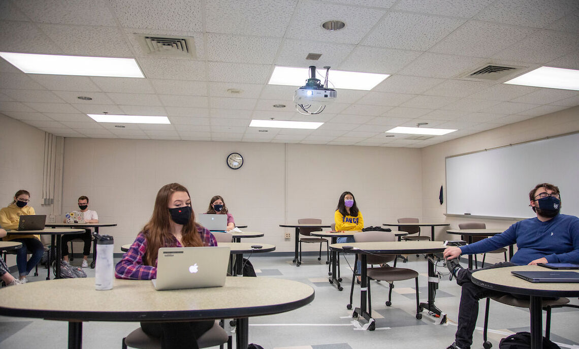 During one class, based on an article about how experimental physics is closely tied to masculine identity, the students talked about barriers to success, implicit bias, stereotype threat, micro aggressions and sexual harassment.