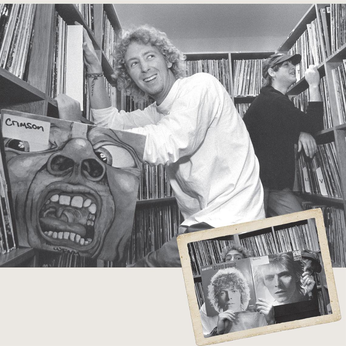 Dave Mann '94 (left) and Rich Quinlan '95