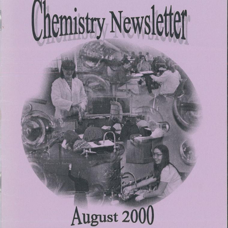 2000 Chemistry Newsletter Cover