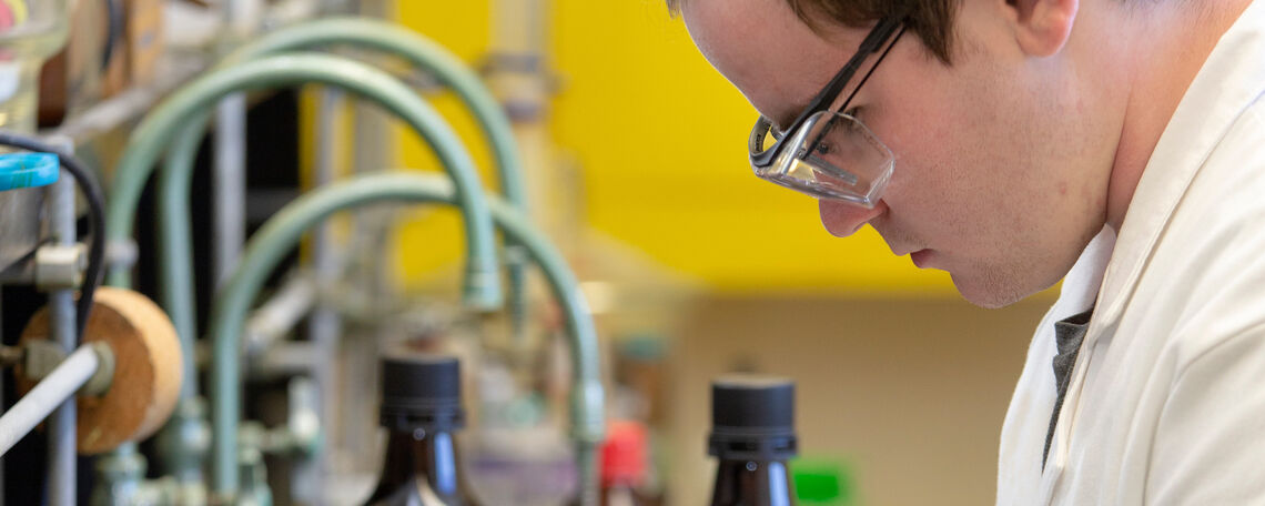 Prof Van Arman's research lab