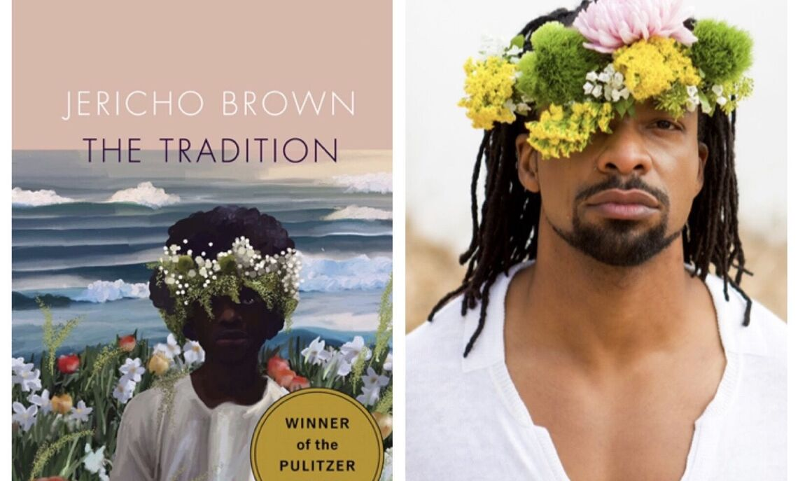 "Jericho Brown and his Pulitzer Prize-winning book, ""The Tradition"""