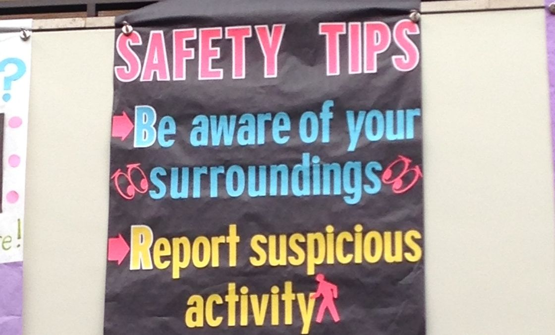Safety Tips Banner II
