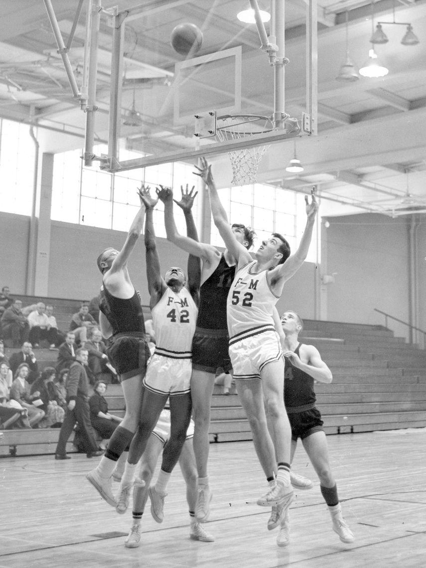 Mayser opening basketball game