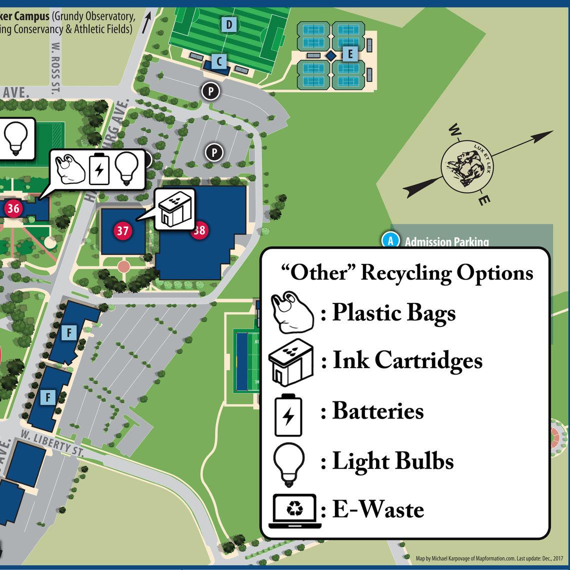 Fandm Campus Map Www Topsimages Com