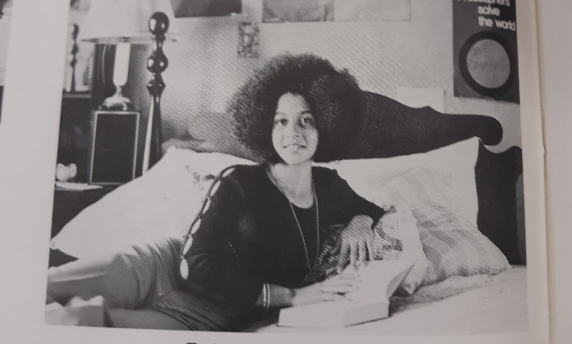 Mizan (Roberta) Kirby-Nunes '73, the only Black woman to graduate that year