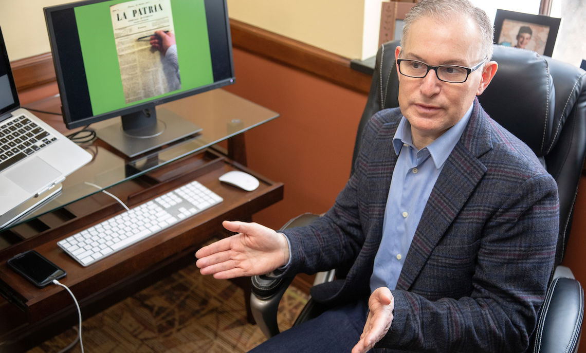 """The story within the story he is researching was so compelling that Lerner decided to write a crossover book that combines scholarship and novel writing. """"It's kind of a mystery story,"""" he says."""