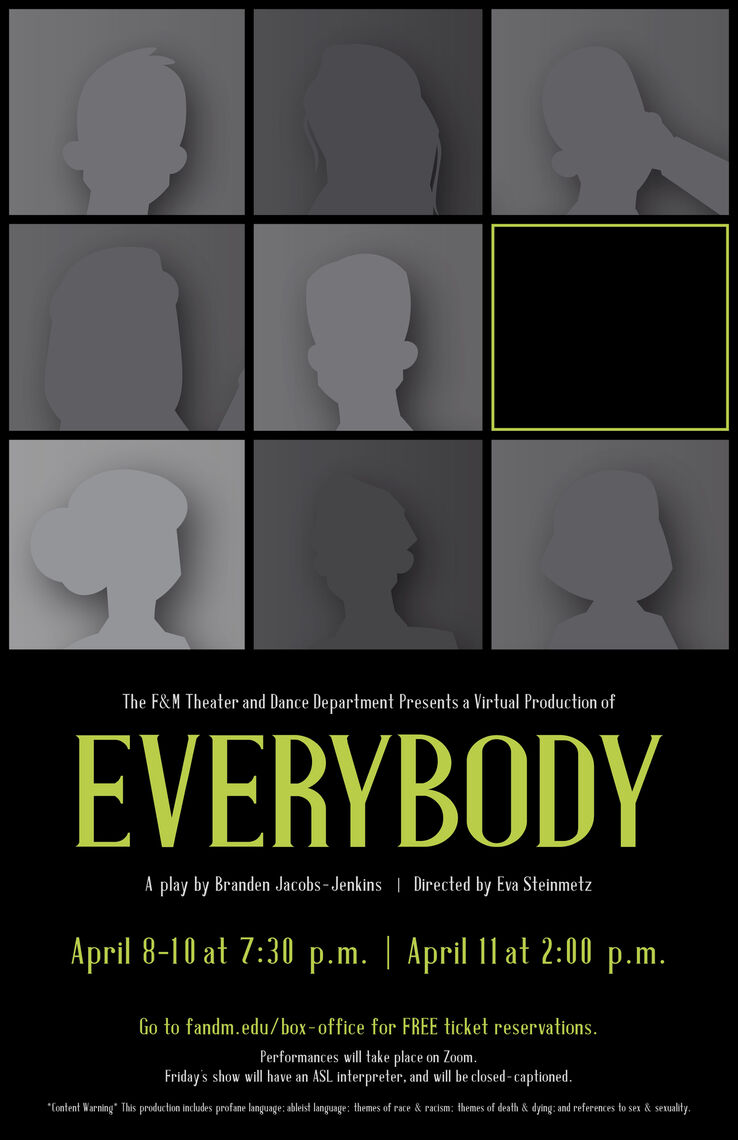 EVERYBODY show poster