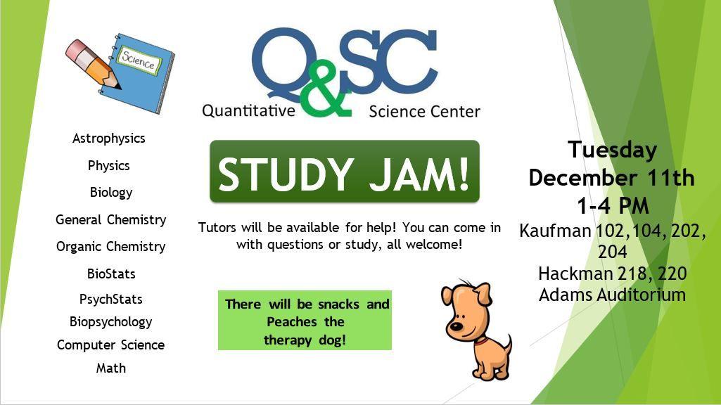 Q&SC study jam