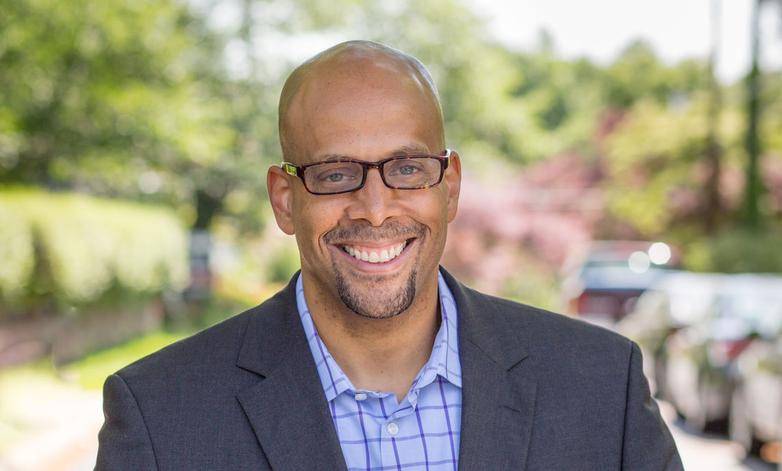 Mehlman Scholar Jim Shelton, president of education at Chan Zuckerberg Initiative, speaks Nov. 28 at F&M.