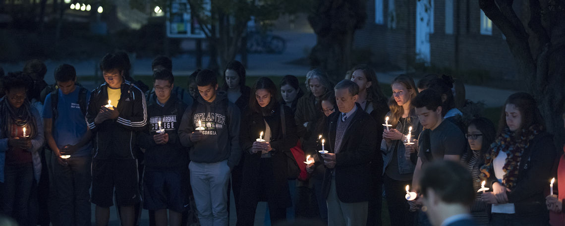 vigil inside marquee