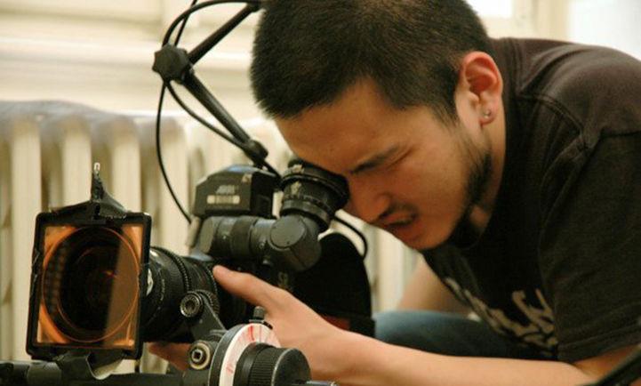 Yiran Zhou '10 behind the lens.