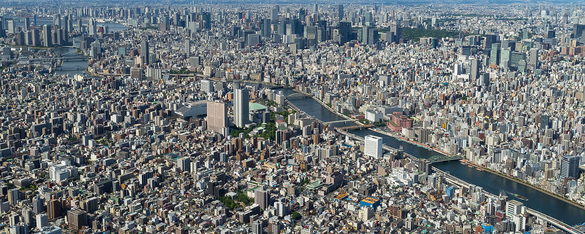 Tokyo overview.