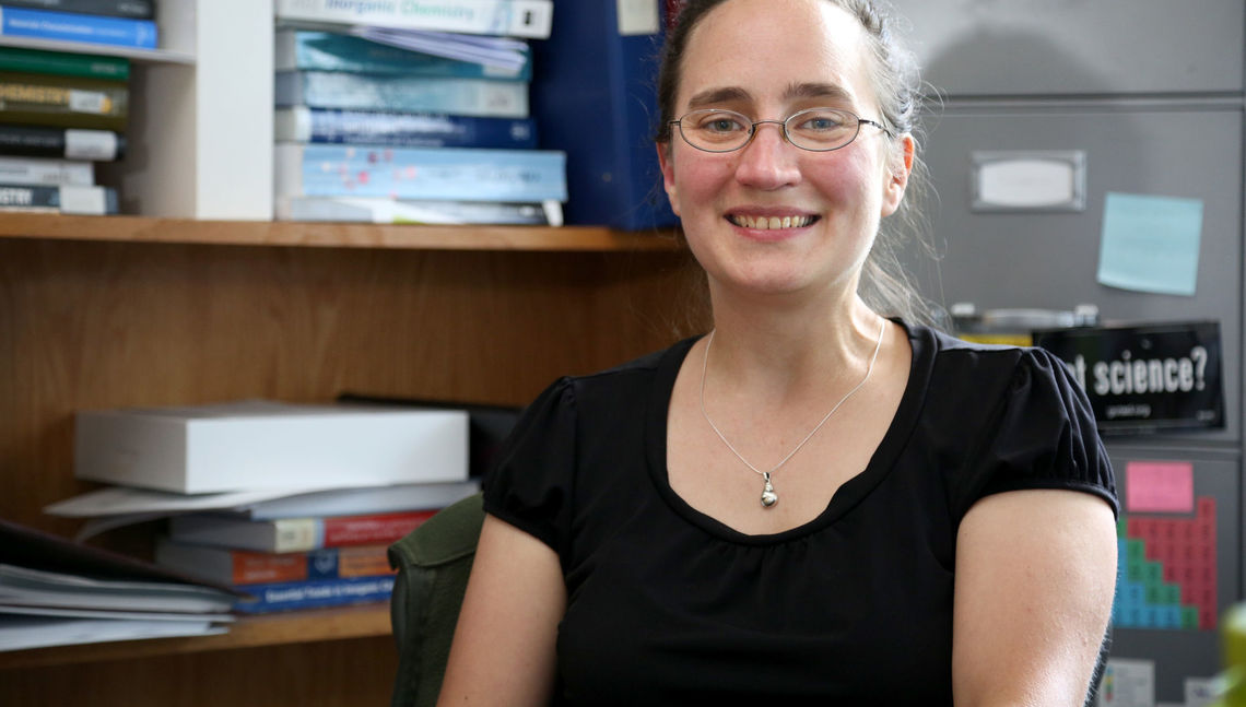 Her research pursuit the last decade into the technological behavior of properties in surface and solid-state materials also has allowed Plass to mentor students, many of whom have gone into the field of chemistry.