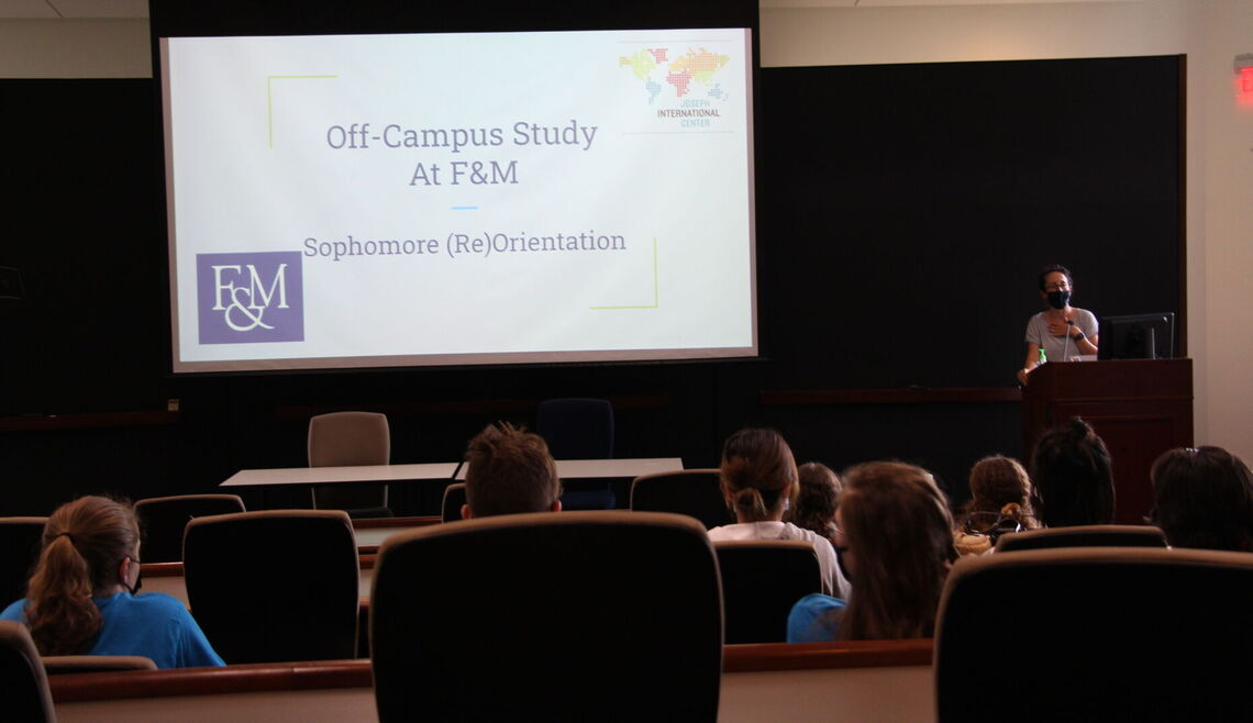 Sessions during Sophomore (Re)Orientation