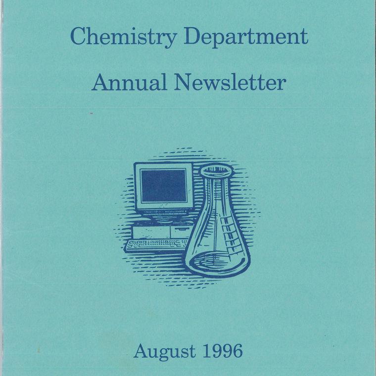 1996 Chemistry Newsletter Cover