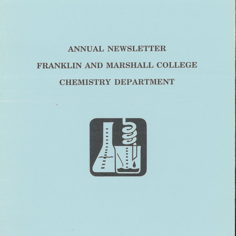 1990 Chemistry Newsletter Cover