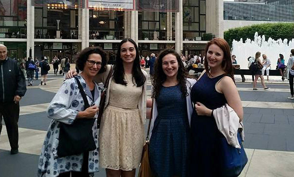 Family and friends joined Joanna in New York City to see the Alvin Alley dance company at Lincoln Center.