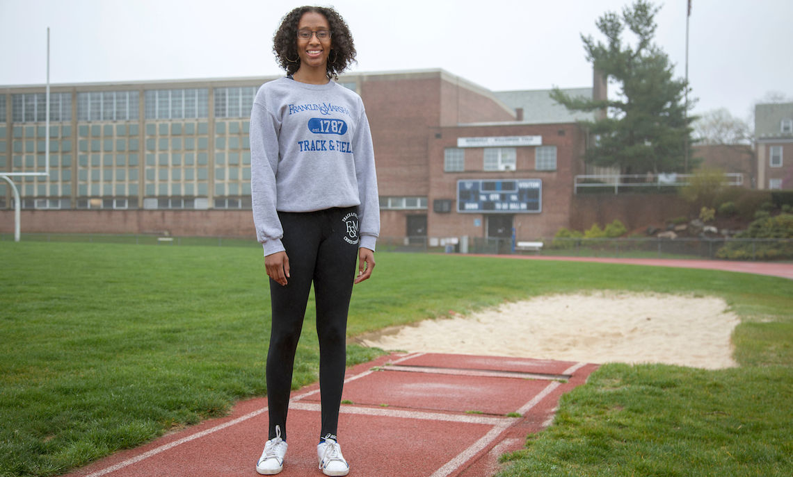 """Alyssa Ward's advice to underclassman: """"It's okay to take moments for yourself, and it's okay to focus on just the things that matter in the moment."""""""