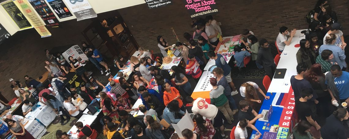 Spring Student Involvement Fair 2018