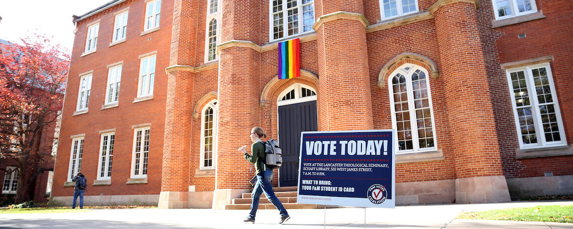 F&M Votes.