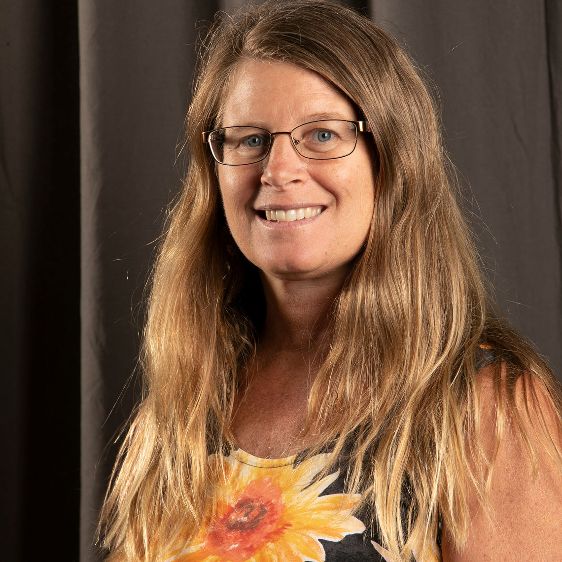 Melissa Betrone, the new academic coordinator for the Earth & Environment Department.