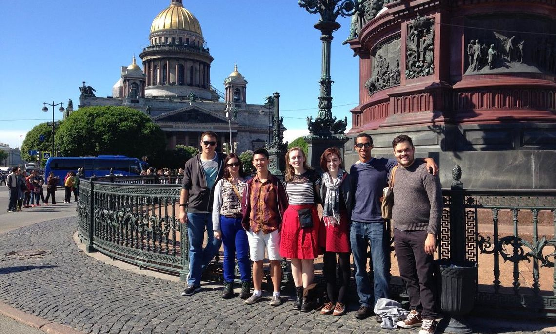 F&M in Russia 2015 spent a few weeks in St. Petersburg and Moscow with Dr. Stone of the F&M Russian Studies department, who led students on an introduction to Russian culture.