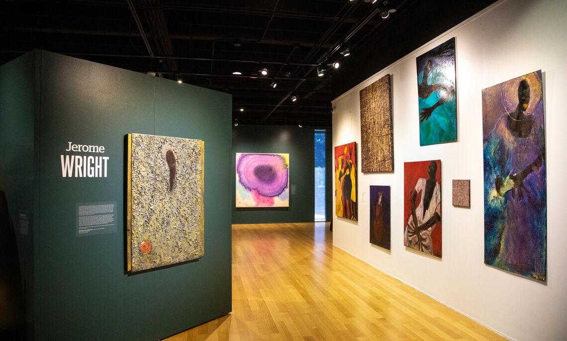 Nissley Gallery, Fall 2021. Deb Grove, F&M photographer.