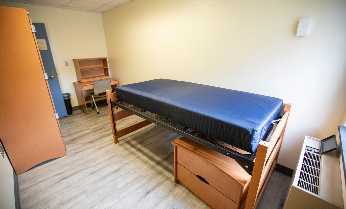 Single room in Weis College House suite