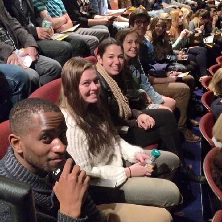 Over 40 F&M students went to see Fun Home on Broadway. 10/26/15