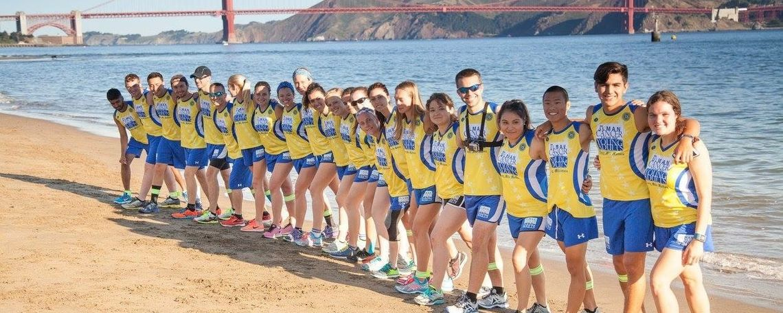 Running from San Francisco to New York City, F&M's Lu and 22 other college-aged students  left June 19 and are expected to finish the more than 4,000-mile trip Aug. 6
