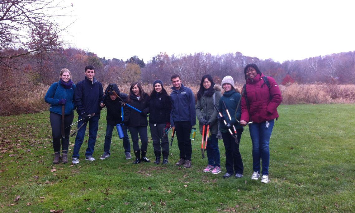Students at Millport