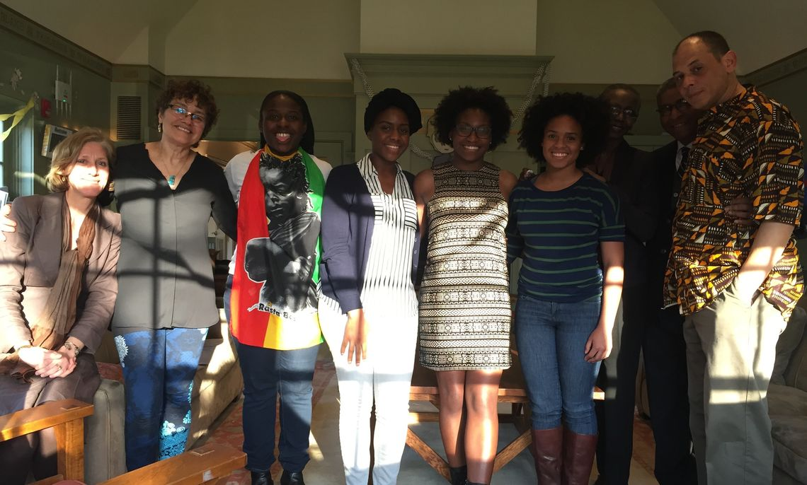 Africana Studies Students and Staff