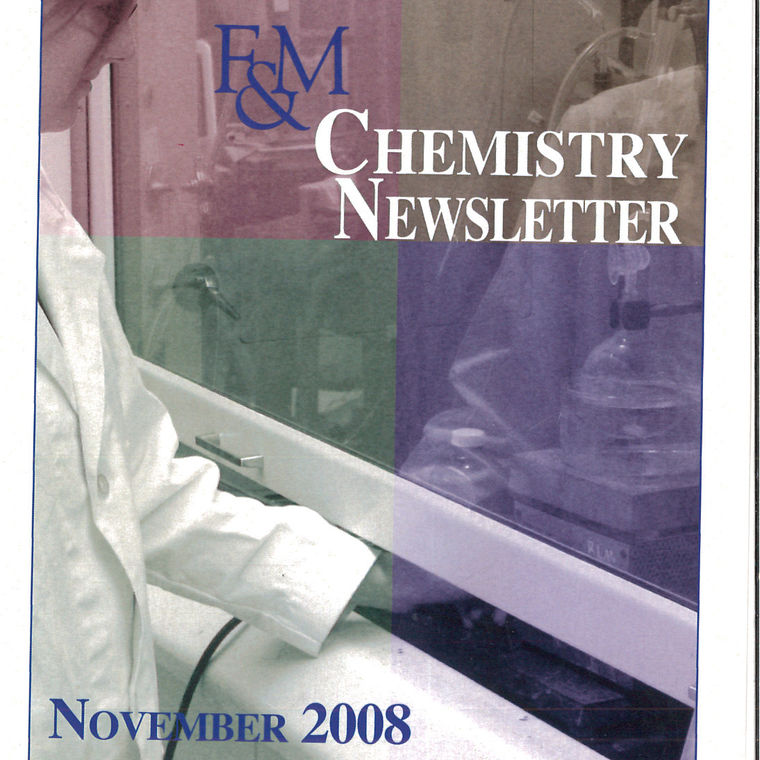 2008 CHM Newsletter cover