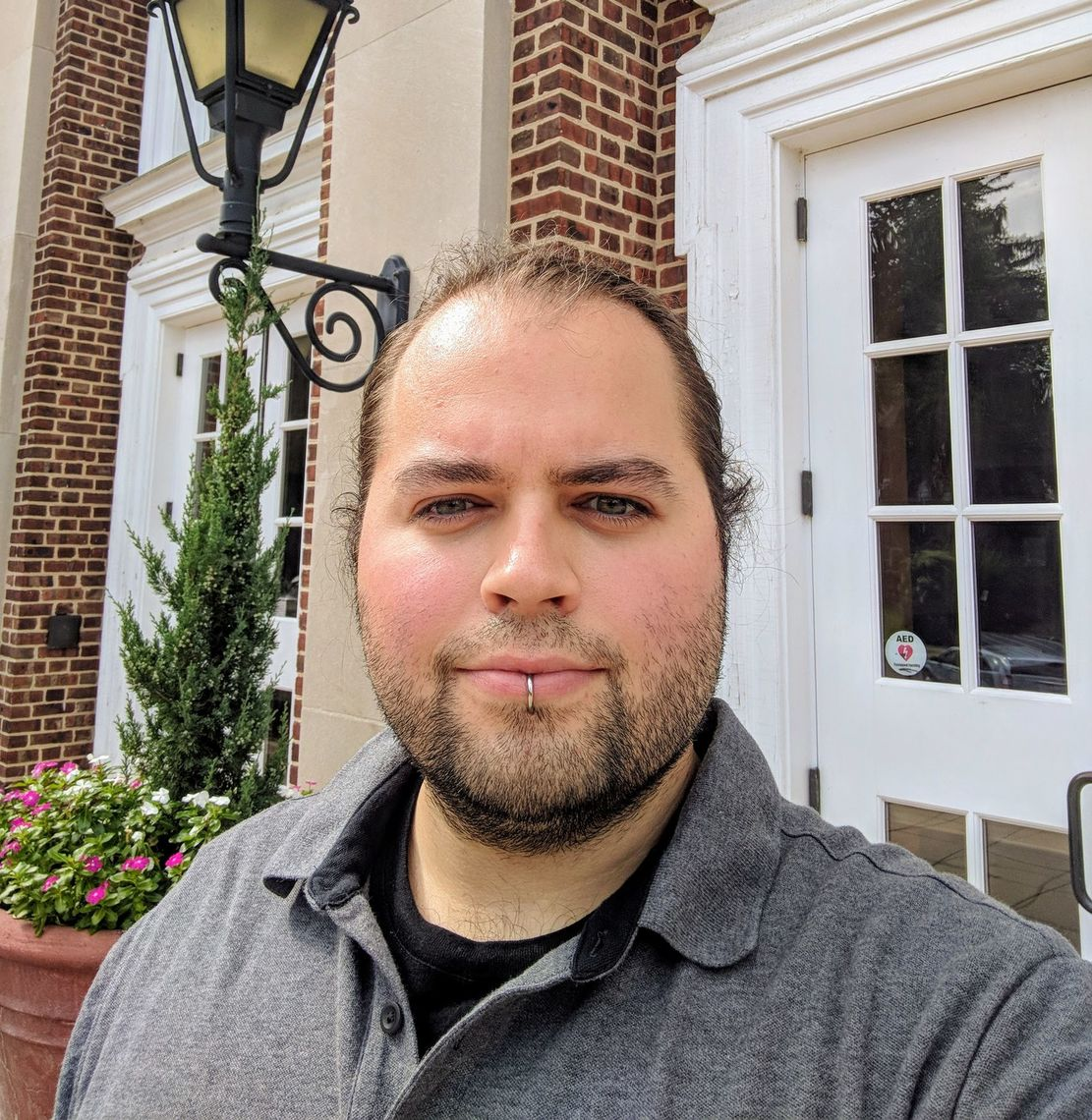 Travis Berkoski, the new performance manager for F&M's Barshinger Center for Musical Arts.