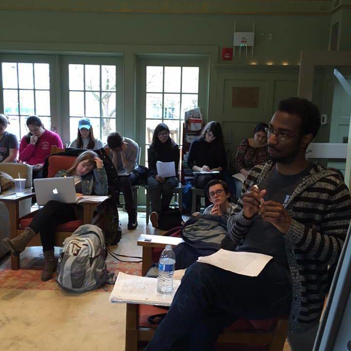 Phillip B. Williams gives his EWF craft talk 4/7/16