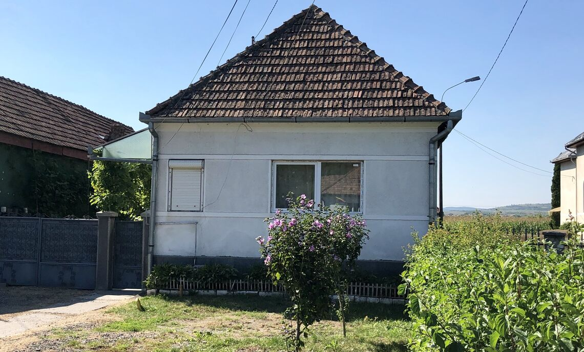 The childhood home of F&M Senior Griffin Sneath's grandmother in Petelea, Rumania.