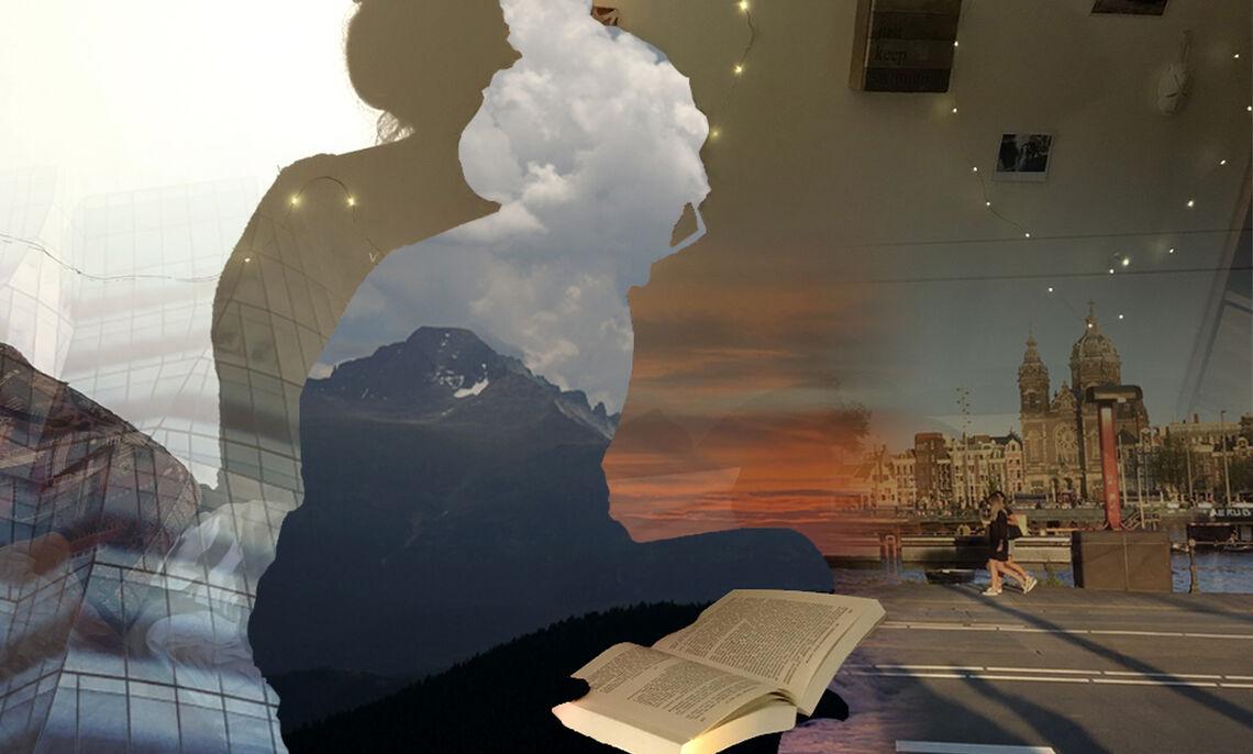 Senior Sarah Kurland-Hill's digital work.