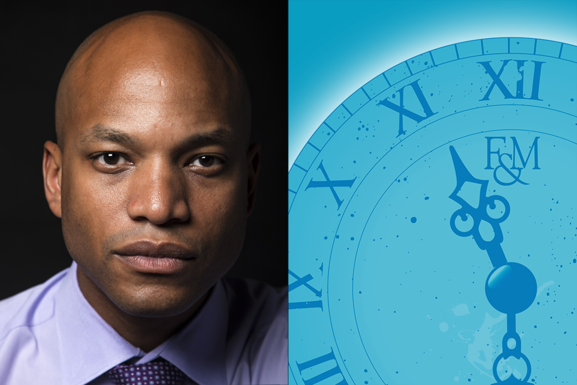 Wes Moore, CEO of the Robin Hood Foundation, author, veteran and social entrepreneur