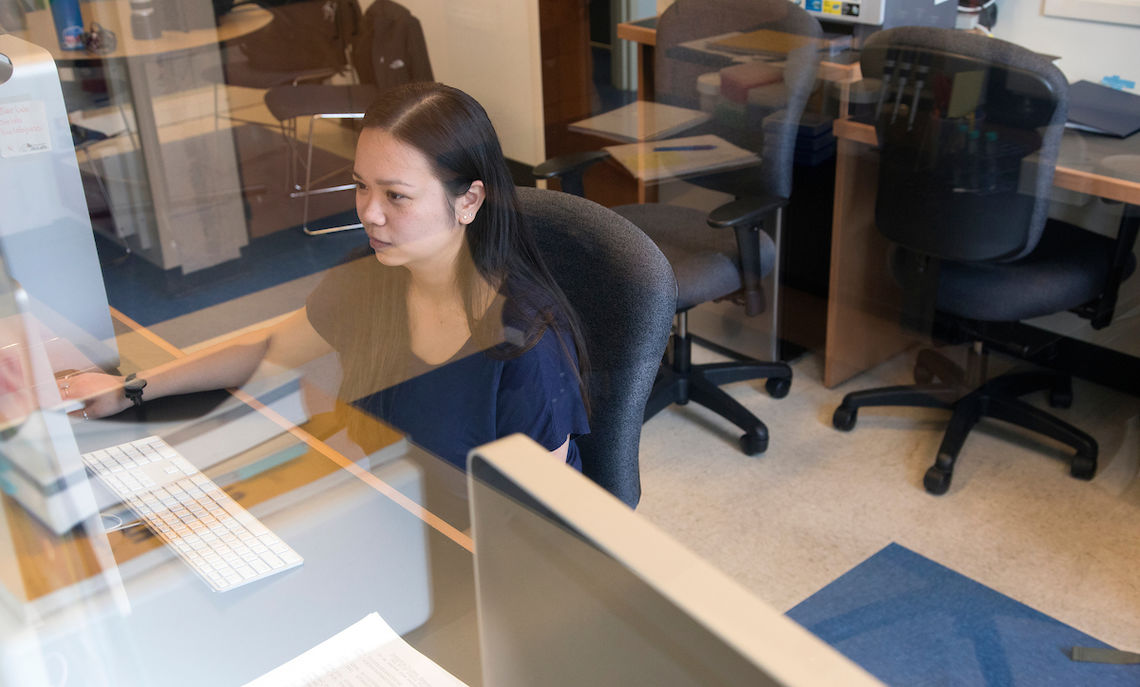 Bauer likes that a liberal arts education gives her flexibility to study sciences at an advanced level without also having to focus on fields such as the pre-med path.