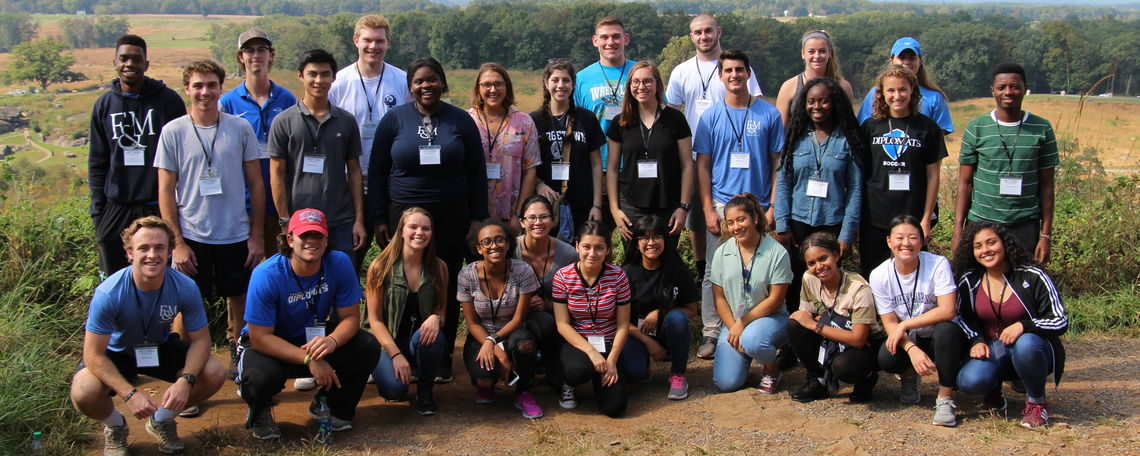 Harwood Leadership Seminar 2018, Gettysburg Trip