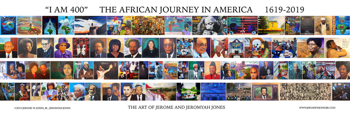"""I AM 400"" The African Journey in America by Jeremy W. Jones, Jr. and Jeromyah Jones"