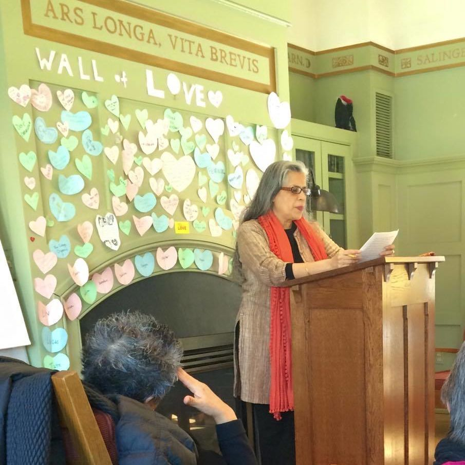 Professor Padmini Mongia reads and discusses her writing as part of the Faculty Writers series, a collaboration between the Faculty Center and Writers House. 2/24/15