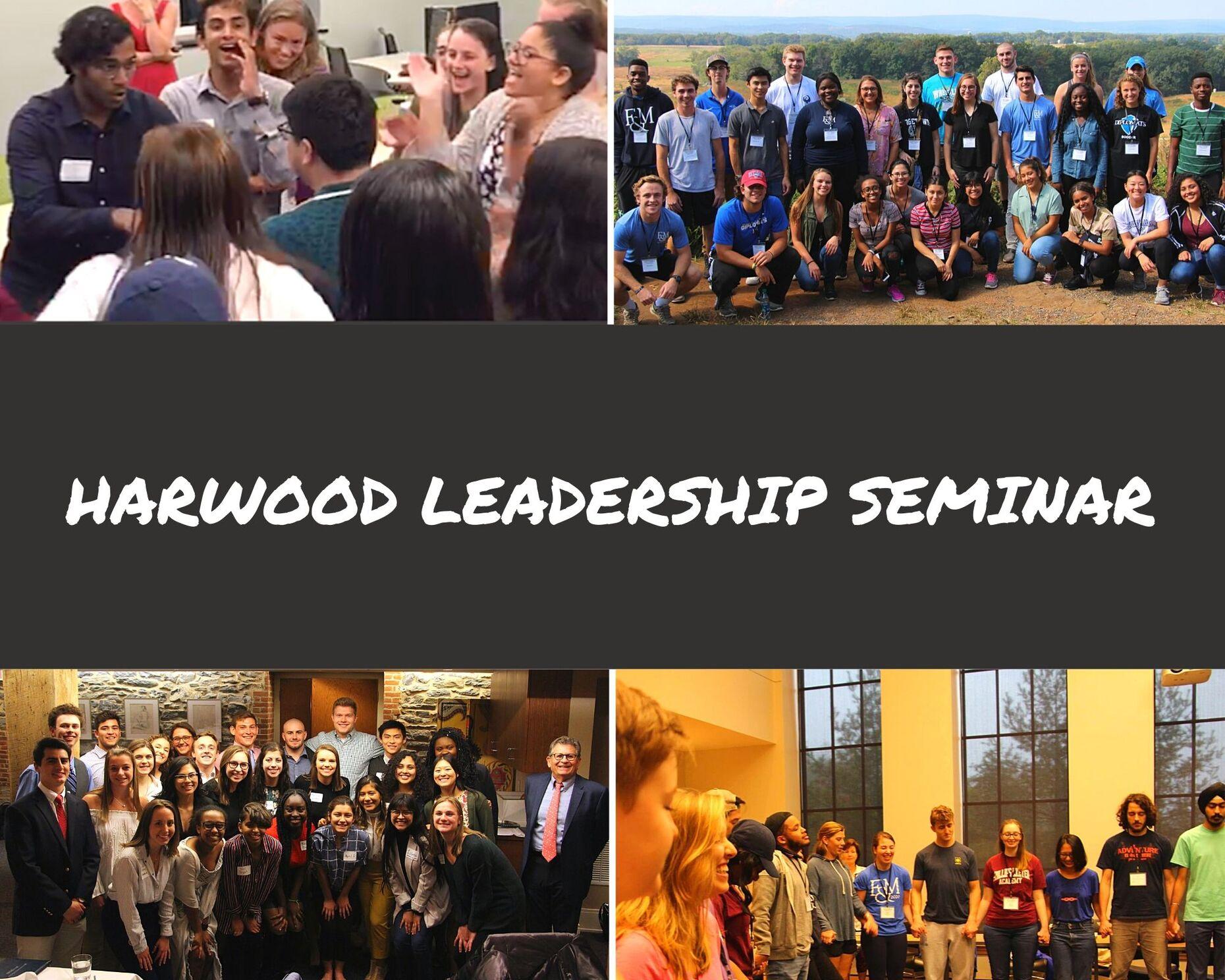 Harwood Leadership Seminar Graphic